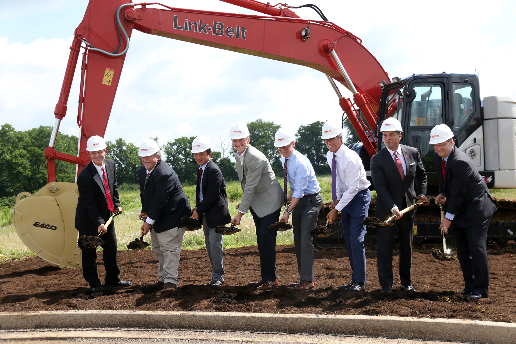 LBX Ground Breaking